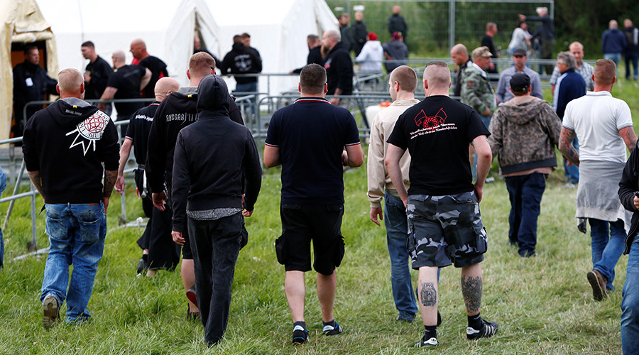 Thousands flock to 'largest' neo-Nazi rock festival in Germany, outnumber host city's population