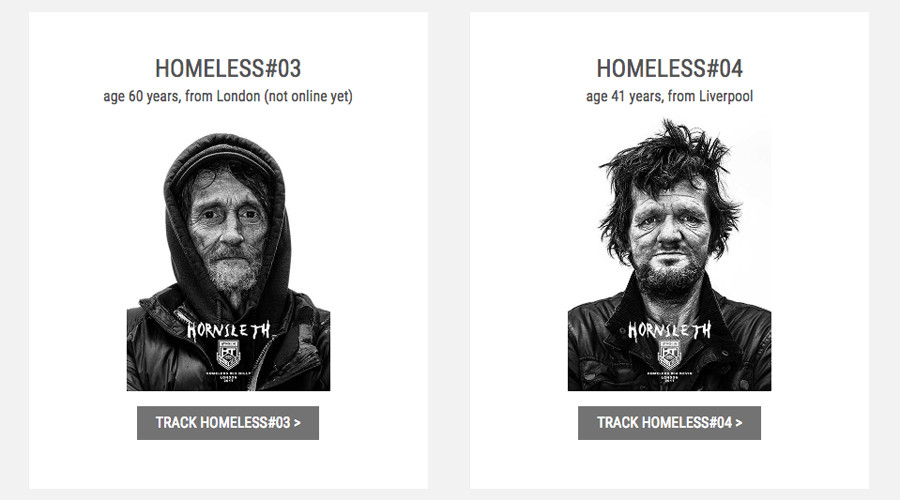 Charity or abuse? Artist tags London homeless, puts them 'on sale'
