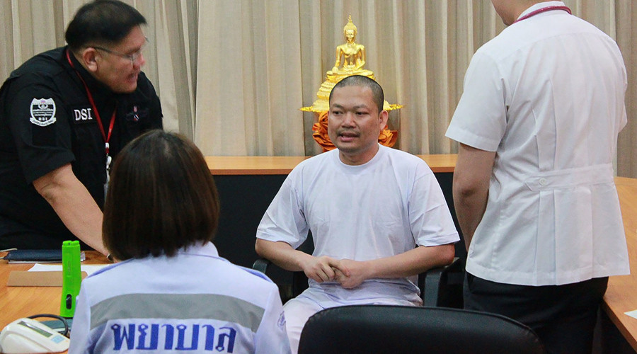 Disgraced Buddhist monk charged with child rape in Thai court after extradition from US