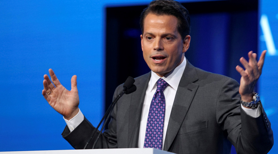 White House leaks must stop or 'everyone is getting fired', warns new coms chief Scaramucci