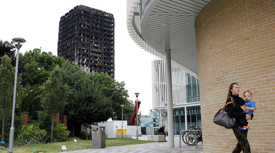 Thousands Of Empty Homes Surrounding Grenfell Tower Investigation