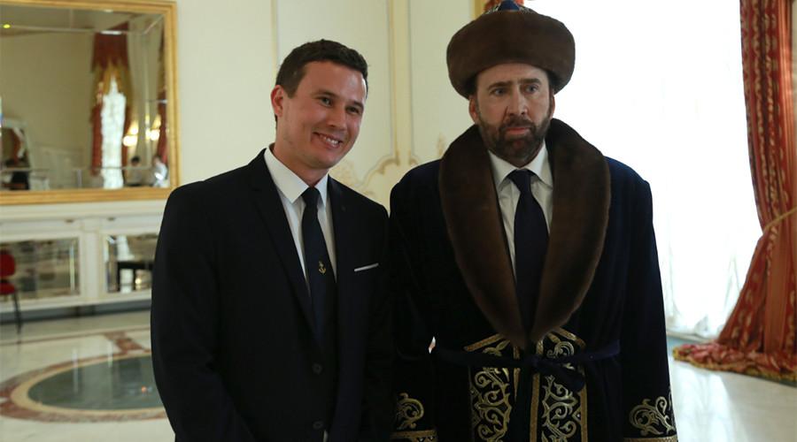 Nicolas Cage sparks meme meltdown after donning traditional Kazakh dress
