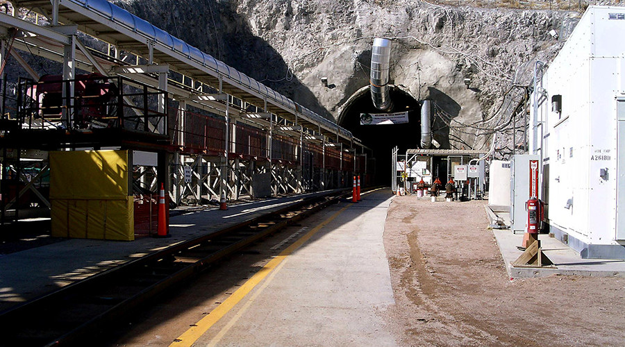 Air Force secretary critical of nuclear waste routes to Yucca Mountain
