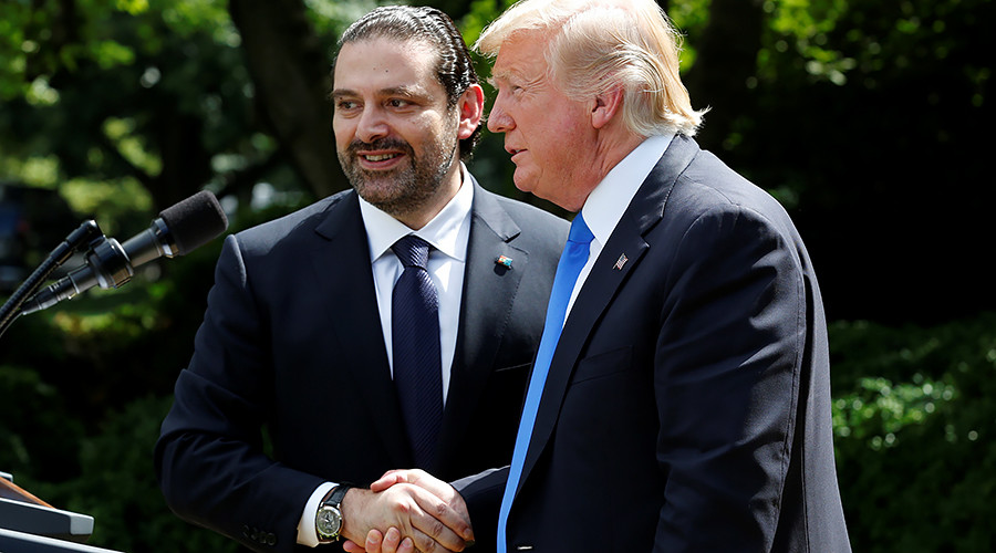 Trump to Lebanese premier: 'You're on frontline of fighting ISIS, Al-Qaeda – and Hezbollah'