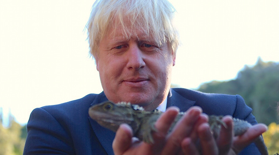 Boris Johnson plays down Tory leadership bid rumors... again
