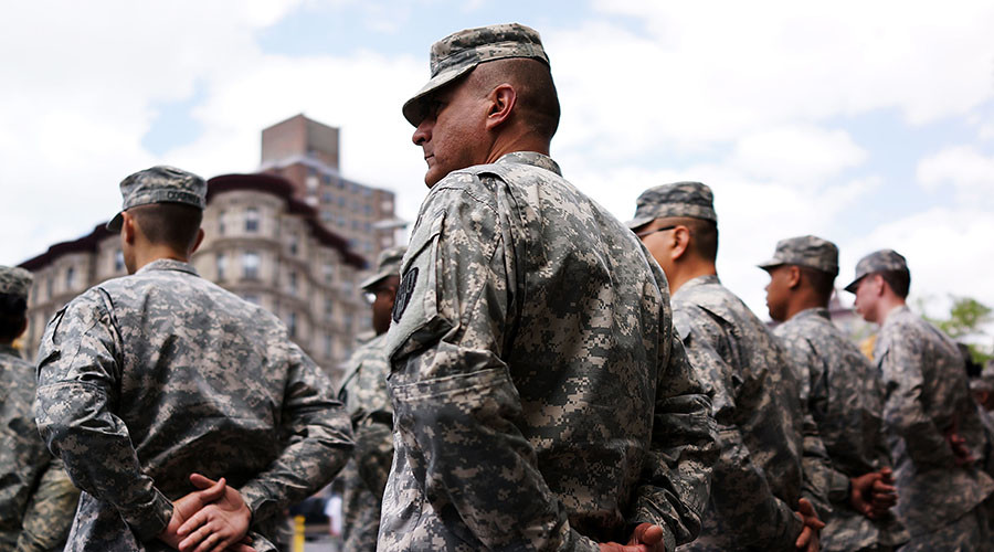 No transgender people to serve in US military 'in any capacity' – Trump
