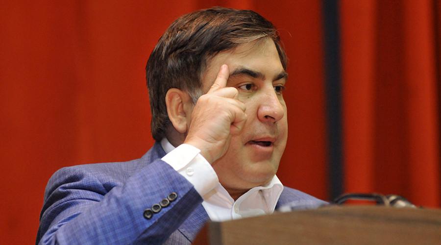 Fugitive ex-Georgian leader Saakashvili recaptured in Kiev after supporters helped him break free