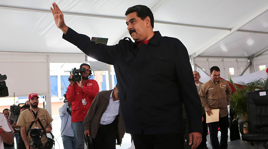 Maduro to Trump: 'Stop aggression against Venezuela, stop meddling in Latin American affairs'
