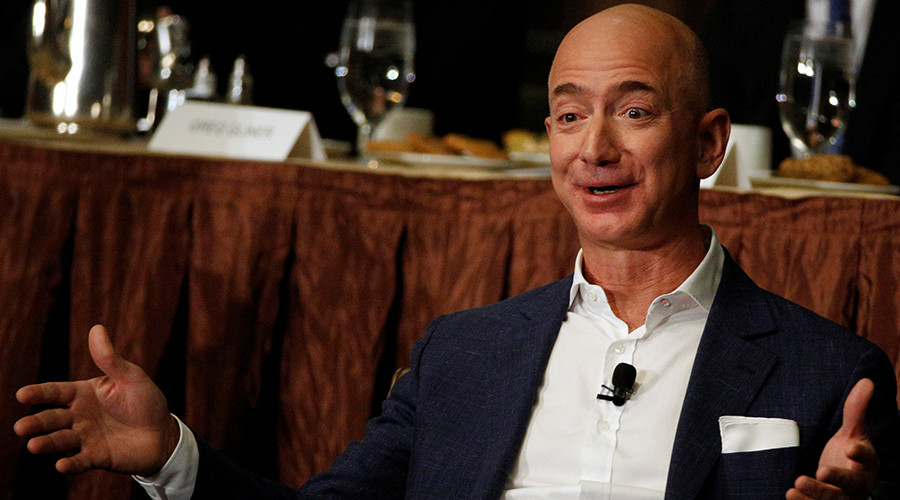 Jeff Bezos overtakes Bill Gates to become world's richest person