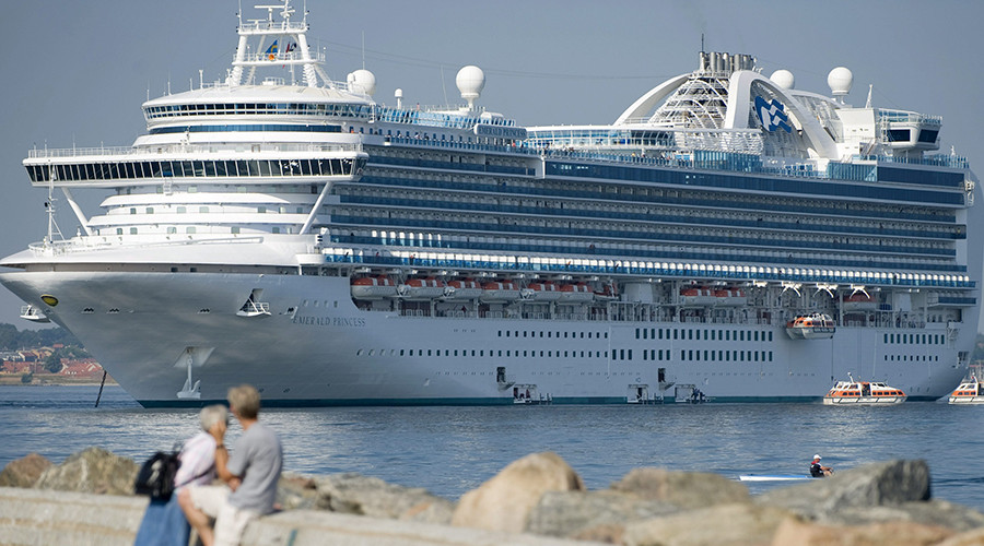 'She would not stop laughing': Man charged with killing wife on Alaska cruise