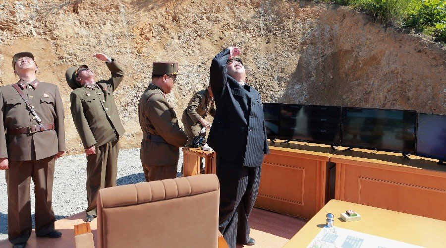 Russian military says North Korean missile launch was IRBM, flew 732 km