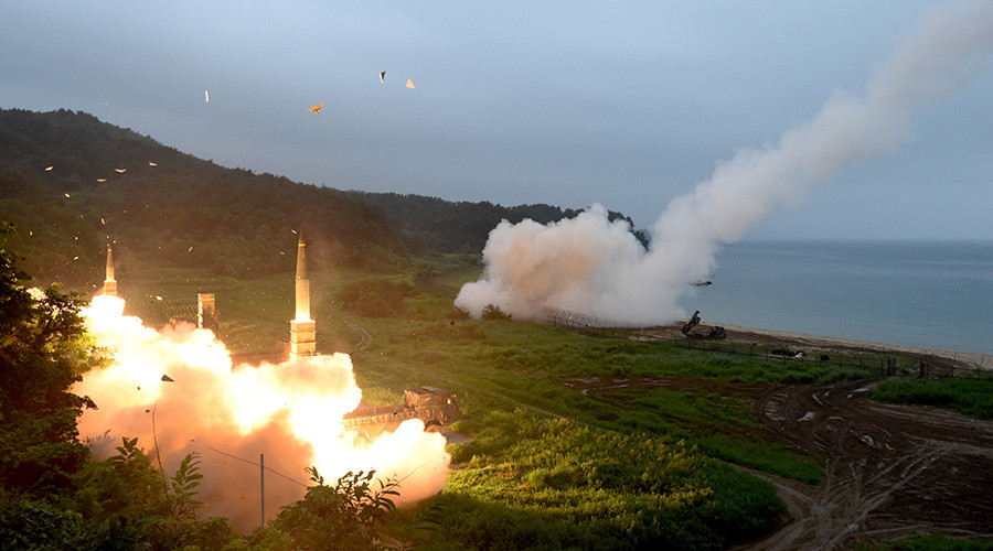 South Korea & US missiles launched in response to North Korea test (VIDEO)