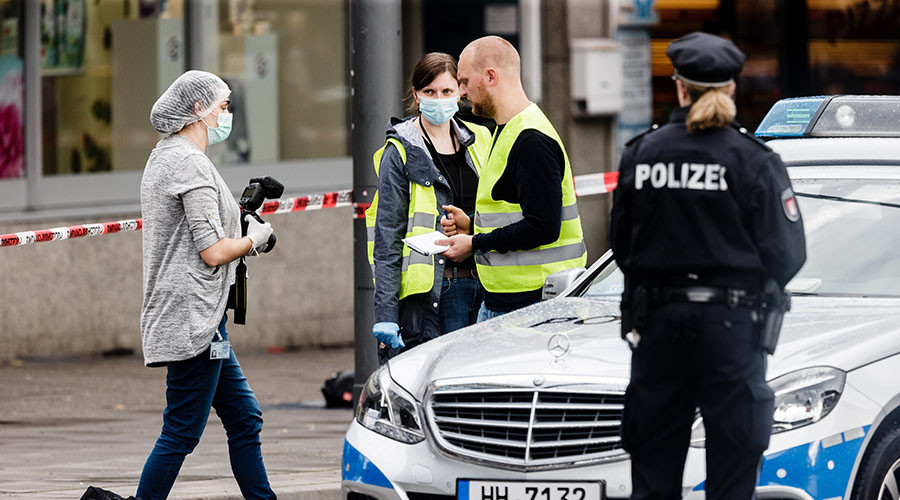 Hamburg knife attacker acted on 'Islamist motives' – prosecutors