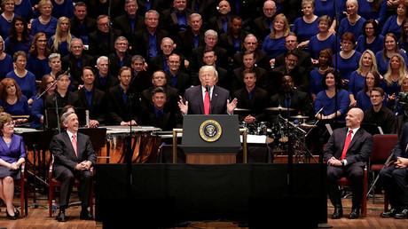 US President Donald Trump © Yuri Gripas