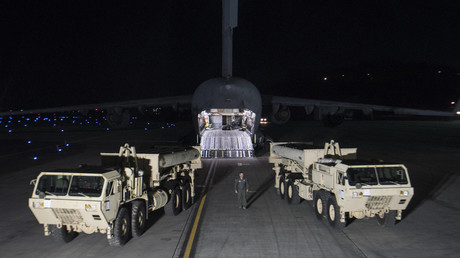 The South Korea-US alliance decision to install a Terminal High Altitude Area Defense © DoD