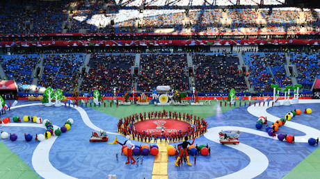 Ballet, football history & Ronaldo: Best of Confed Cup closing ceremony in St. Pete (PHOTOS)
