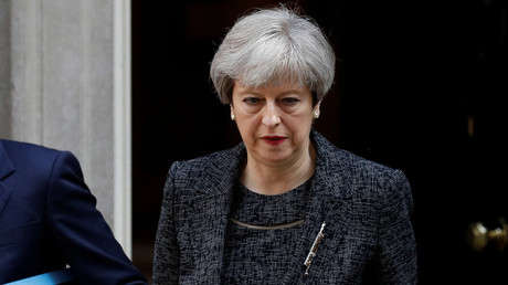 Conservative coup rumors swirl as May's popularity plummets