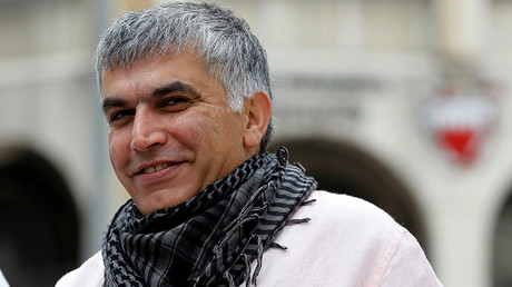 Bahraini activist Nabeel Rajab sentenced to 2yrs in jail for spreading 'false news'