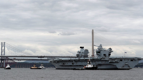 UK's £3bn aircraft carrier could be sunk by cheap missiles – security think-tank