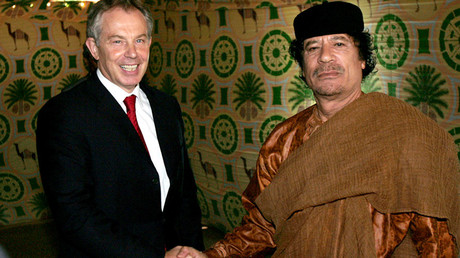 Cozy relationship between Blair govt & Gaddafi regime uncovered in secret files