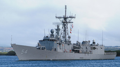 The Oliver Hazard Perry-class fast frigate USS Ford (FFG 54). © U.S. Navy