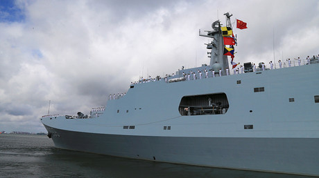 China sends ships, troops to 1st overseas military base in Horn of Africa
