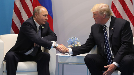 Trump on Putin: We get along 'very well,' that's a 'good thing'