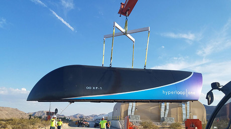 'We made history': Hyperloop One completes first successful test (PHOTOS, VIDEO)