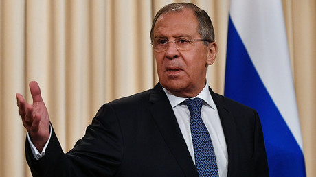 Russian Foreign Minister Sergey Lavrov © Vladimir Pesnya