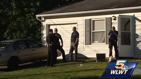 Home in Colerain Township, Ohio, that was the scene of a deadly shooting. © WLWT