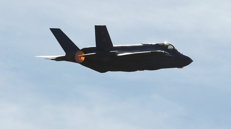 FILE PHOTO A F-35 fighter jet © George Frey