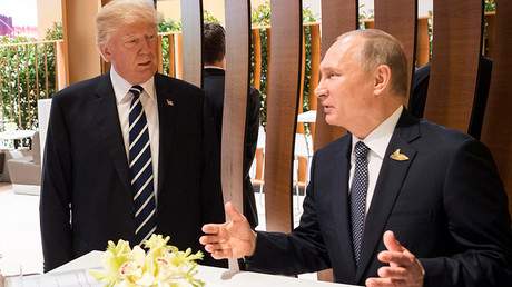 Trump confirms G20 dinner chat with Putin, slams 'sick' MSM reports of 'secret talks'