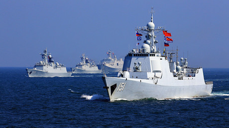 FILE PHOTO: China-Russia naval joint drill © Global Look Press