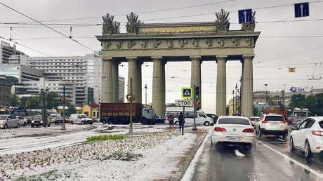 'Arctic invasion': Huge winter storm, freezing rain wreaks havoc in Moscow (PHOTOS)