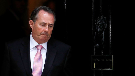 Britain's Secretary of State for International Trade, Liam Fox. © Peter Nicholls