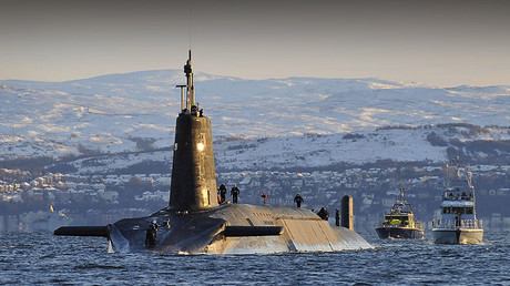 Nuclear submarine HMS Vanguard. © Tam McDonald - Defence Imagery