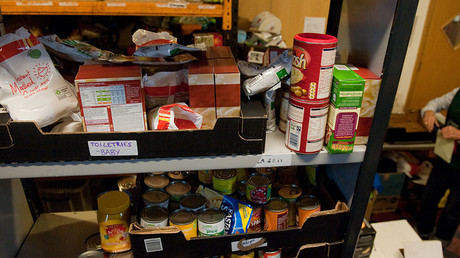 Half of children who use food banks over summer are primary school age