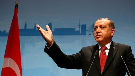 Turkish President Recep Tayyip Erdogan © Wolfgang Rattay