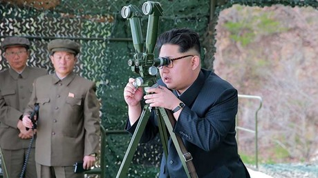 US & South Korea discuss 'military response' to North Korean missile test