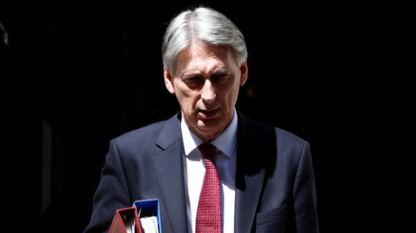 Britain's Chancellor of the Exchequer, Philip Hammond © Stefan Wermuth