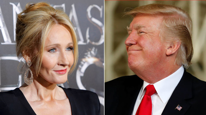 JK Rowling apologizes for wrongly accusing Trump of ignoring disabled boy
