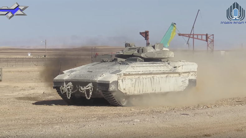 Israel unveils upgraded 'Namer' APC with urban warfare turret (VIDEO)
