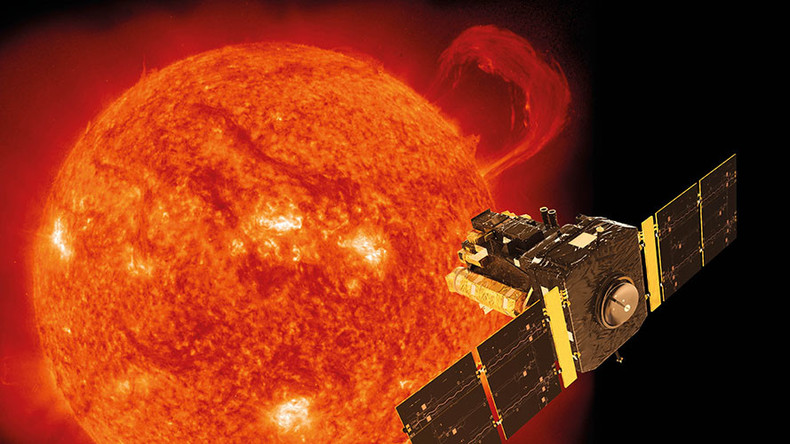 Sun's core rotating 4 times faster than surface
