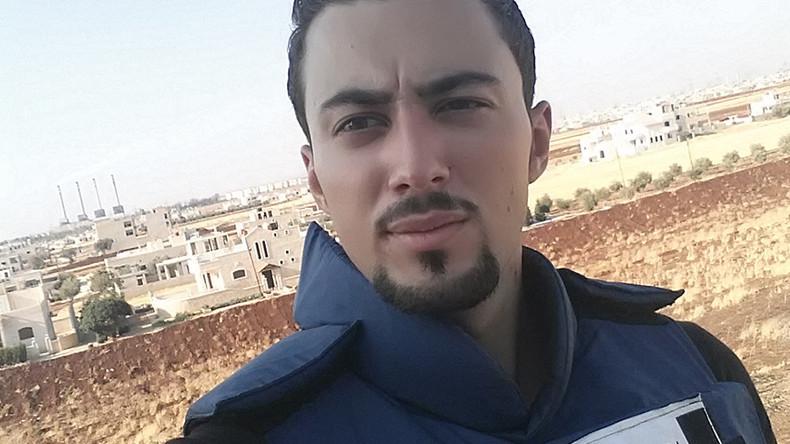 RT announces war reporter award in honor of slain Syrian correspondent Khaled Alkhateb