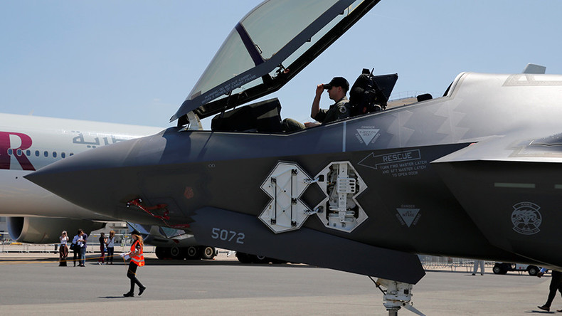 Pentagon awards $3.7bn advance to Lockheed for 50 F-35 fighter jets