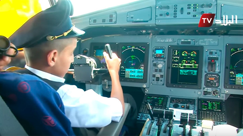 Two pilots suspended for letting 10yo boy operate plane controls