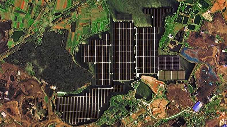 Satellite Captures Images Of World S Largest Floating