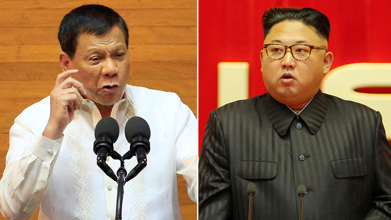Duterte calls 'chubby-faced' Kim Jong-un a 'fool who plays with dangerous toys'
