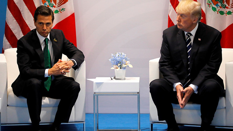 'It's you & I against the world, Enrique' – Trump's talk with Mexican leader leaked
