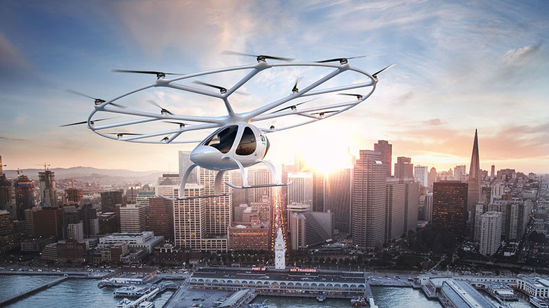Daimler gets onboard self-flying electric cab